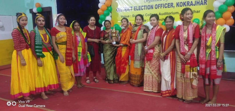 2nd Prize winner election awareness programme 2021